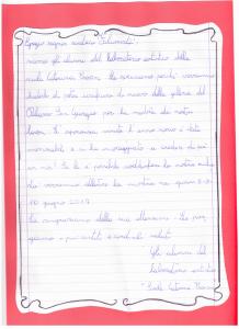 lettera al Sindaco 2